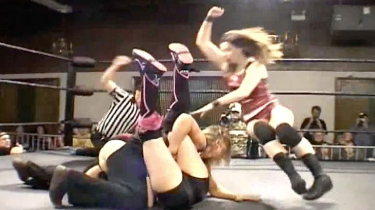 Portia Perez & Nicole Matthews vs. Lorelei Lee & Ashley Lane