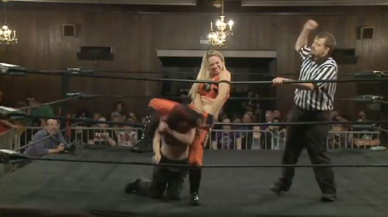 Leva Bates vs. Nevaeh
