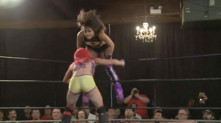 Evie vs. Kay Lee Ray