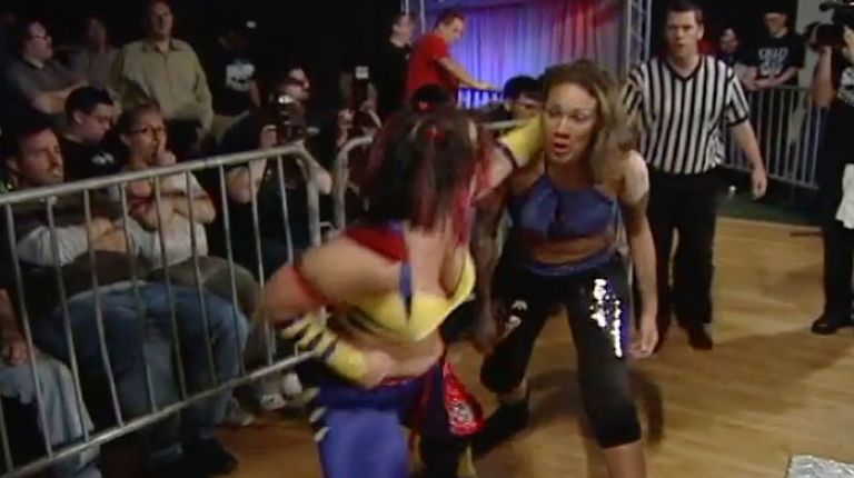 LuFisto vs. Mercedes Martinez