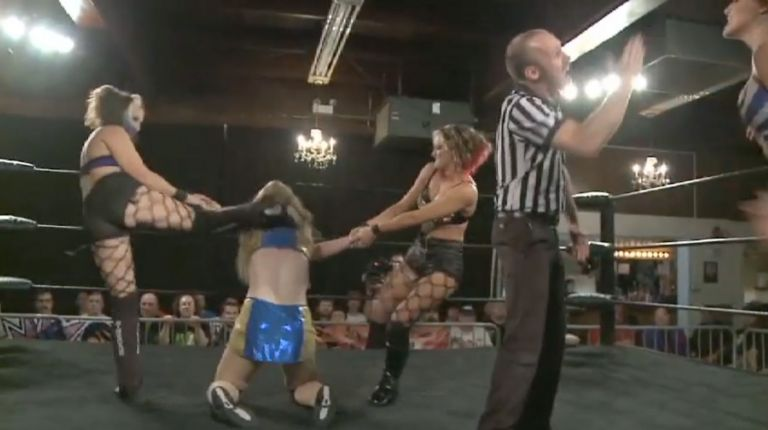 Bambi Hall & KC Cassidy vs. Allysin Kay & Taylor Made