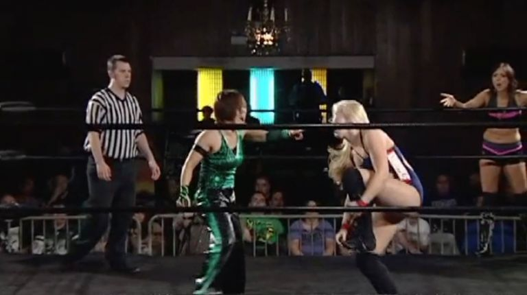 Kellie Skater & Tomoka Nakagawa vs. Cherry Bomb & Kimber Lee
