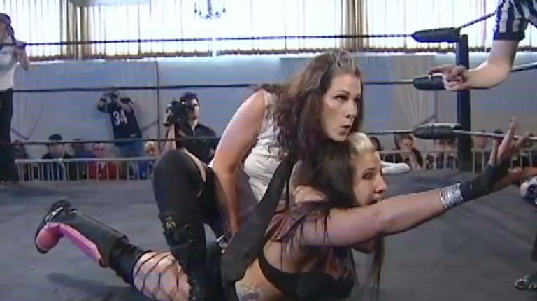 Allison Danger and Leva Bates vs. Allysin Kay and Taylor Made