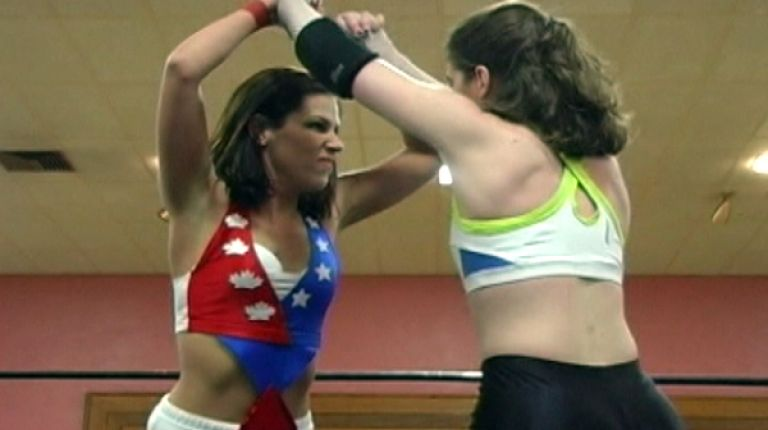 Allison Danger vs. Cindy Rogers