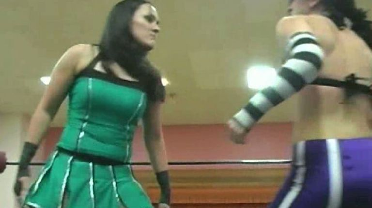 Cheerleader Melissa vs. Melissa Stripes