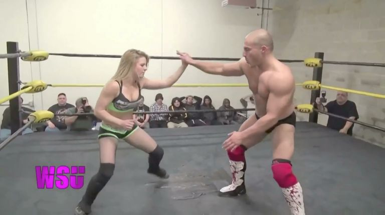 Candice LaRae vs. Chris Dickenson