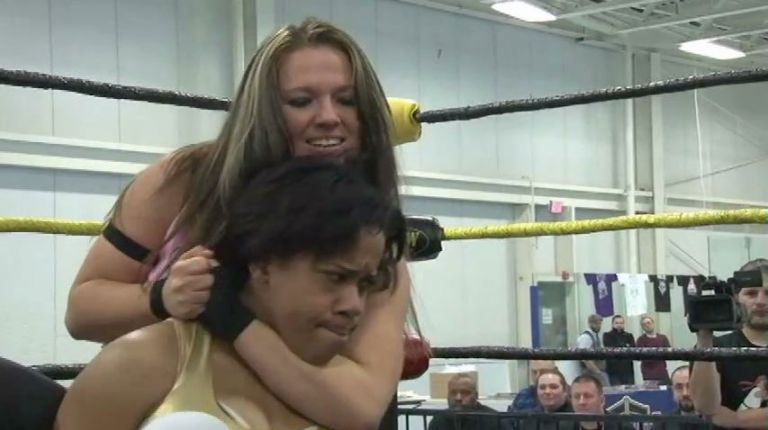 Nevaeh vs. Jessie Brooks
