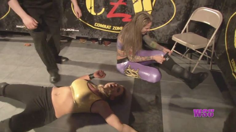 Allie vs. Mercedes Martinez