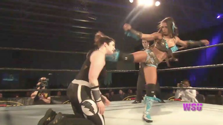 Angelus Layne vs. Renee Michelle