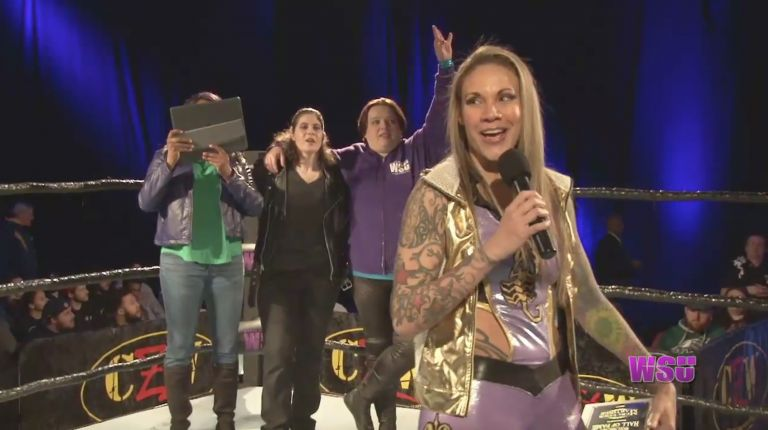 Mercedes Martinez WSU Hall of Fame Induction