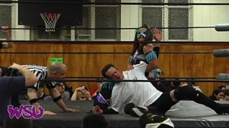 Jamilia Craft & Frightmare vs. Sassy Stephie & JD Smoothie
