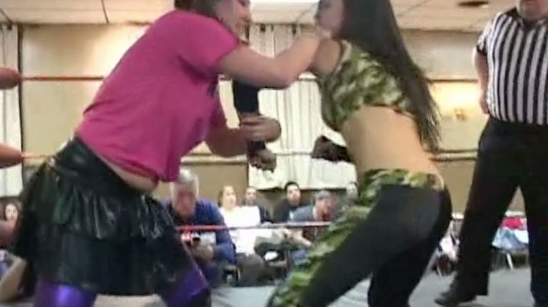 Miss April vs. Roxie Cotton