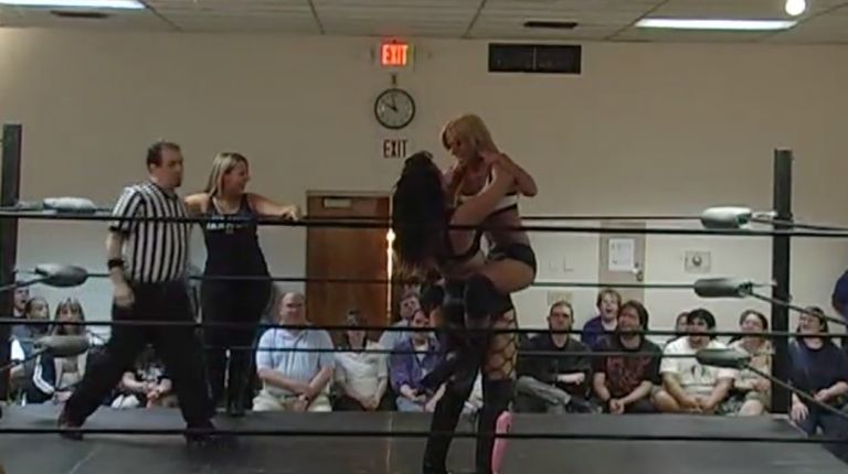 Allysin Kay & Sassy Stephie vs. Alicia & Brittney Savage