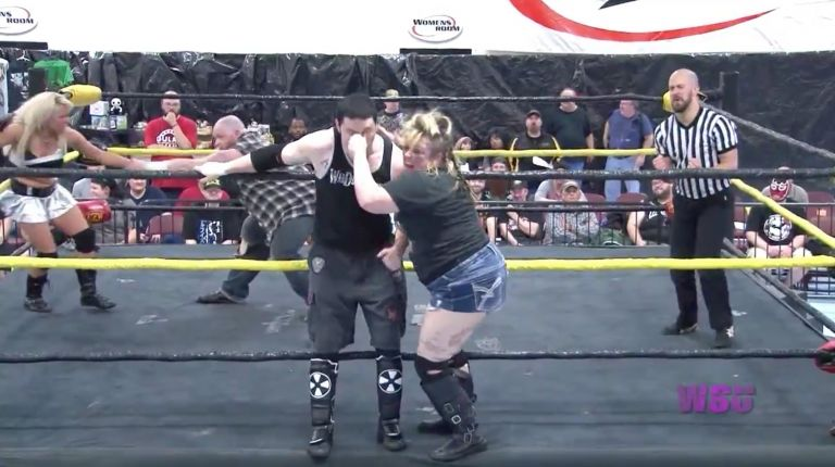 Mickie Knuckles & Matt Tremont vs. Jewells Malone & Danny Havoc