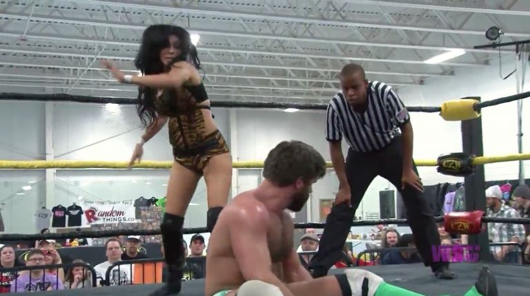 Candice LeRae & Joey Ryan vs. Shelly Martinez & JT Dunn
