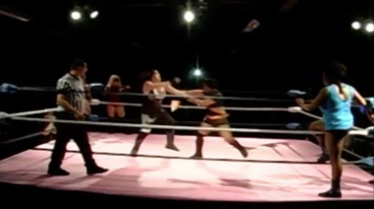 Jennifer Cruz, Ezavel Suena, Nikki Addams & Cherry Bomb vs. Kimber Lee, Jessie Brooks, Jana & Latasha