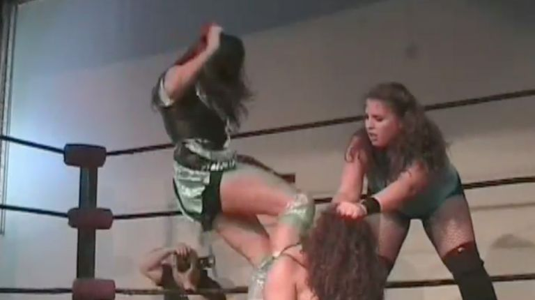 Missy Sampson & Alere Little Feather vs. Kacee Carlisle & Kylie Pierce
