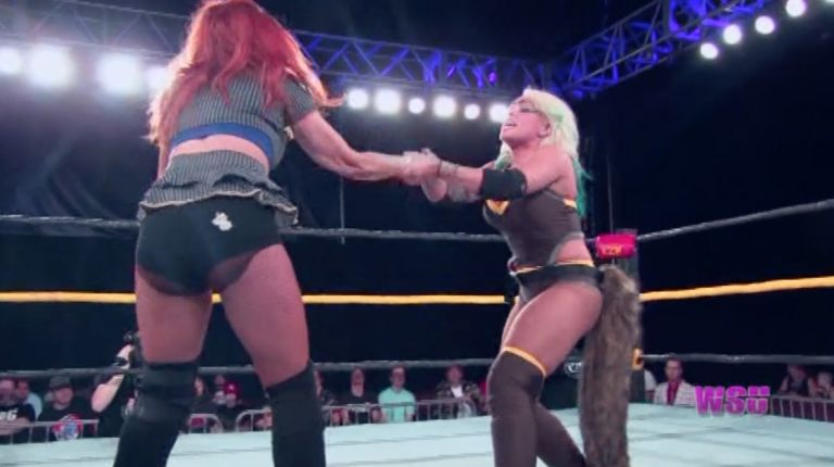 Solo Darling vs. Veda Scott