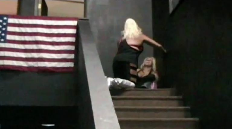 Nikki Roxx vs. Luna Vachon vs. Alicia vs. Amy Lee