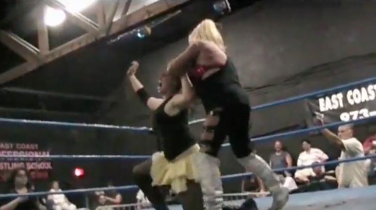 Amy Lee & Luna Vachon vs. Kayla Sparks & Miss DeVille