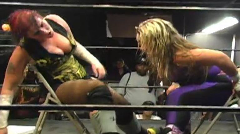 Alicia vs. Jessicka Havok