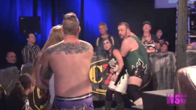Leva Bates & Greg Excellent vs. Isla Dawn & Dave Crist