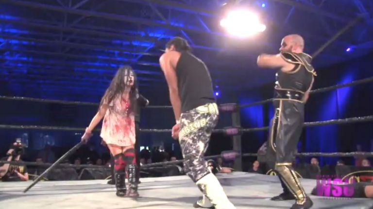 Veda Scott & Jason Cade vs. Su Yung & Blackwater