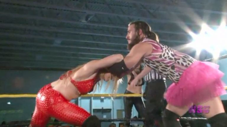 David Starr & JT Dunn vs. Annie Social & Kimber Lee