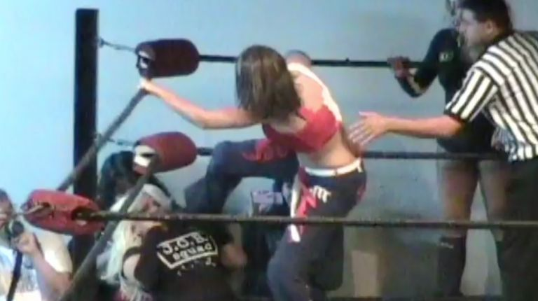 Angel Orsini & Mercedes Martinez vs. Bobcat & Gorgeous George
