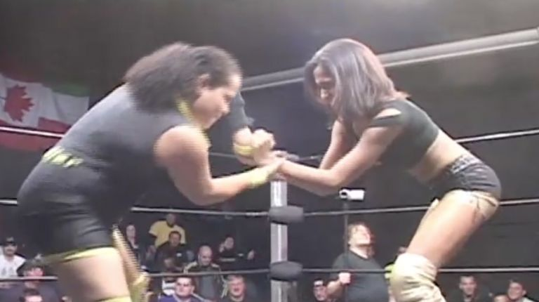 The Belle Saints vs. Jennifer Cruz & Jamilia Craft