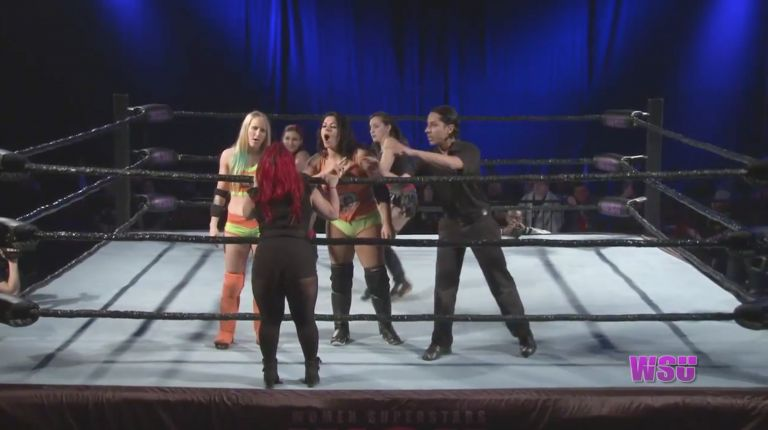 Xandra Bale & KC Spinelli vs. Brittany Blake & Samantha Heights