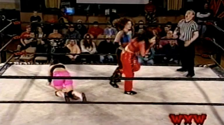 Ariel vs. Cindy Rogers vs. Allison Danger