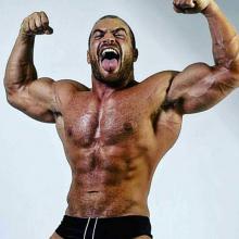 Underground intergender wrestling promotion belly punching match man vs women - 3 3